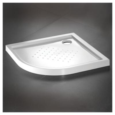 Recept culo para ducha 80 x 80 cm blanco for Sodimac llaves de duchas