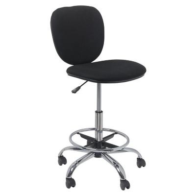 Silla de cajero negra for Sillas de escritorio sodimac