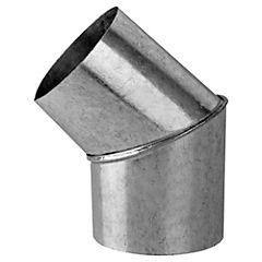 Curva para tubo Acero galvanizado 3-1/2
