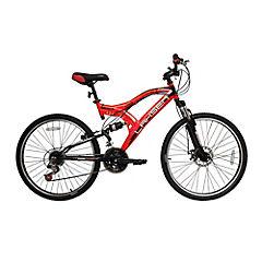 Bicicleta MTB Impact 2600 rojo-negro