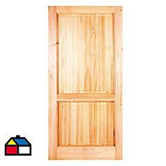 Puerta Llanquihue 210x70 cm