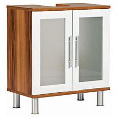 Mueble Bajo Vanitorio 2 puertas Walnut