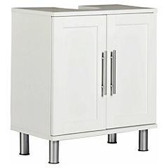Mueble Bajo Vanitorio 2 puertas Blanco