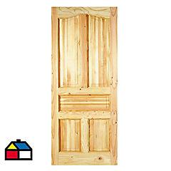 Puerta pino Oregón 132 Ranco 95x200