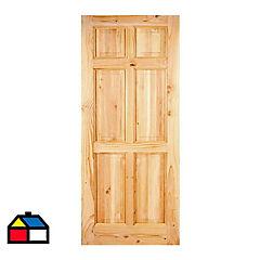 Puerta Maihue 210x70x4,5 cm