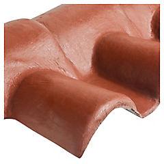 980 x 370 mm Caballete fibrocemento macho teja Chilena roja