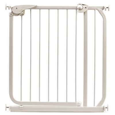 Puerta de seguridad para ni os 74x70 cm madera beige - Puertas de seguridad para ninos ...
