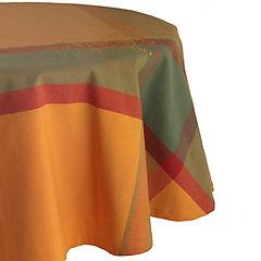 Mantel Redondo 180 cm Hojas