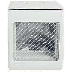 Casquete 2 modulos con ventana, blanco