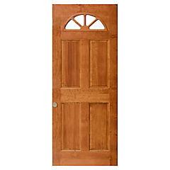 Puerta acceso pino Ibiza cerezo 70x200 cm