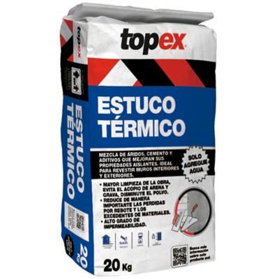 Saco 20 kg topex estuco t rmico for Productos sika para piscinas