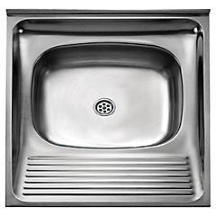 Lavarropa de acero 1 cubeta