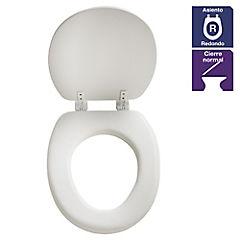 Asiento WC Soft Close Standadrd Blanco