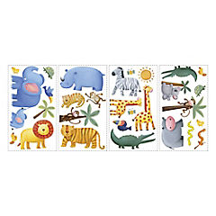 Sticker decorativo jungla 29 unidades