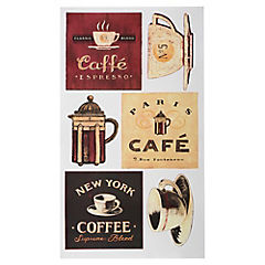 Stickers decorativo Café
