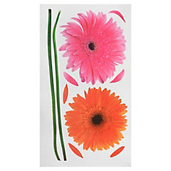 Sticker decorativo gerbera 3 unidades
