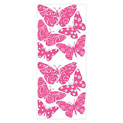 Sticker decorativo mariposas 10 unidades