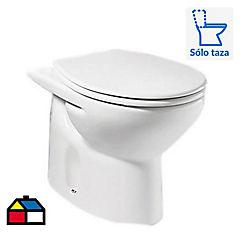 Taza de WC 4,8 litros blanco