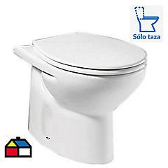 WC línea Victoria al piso blanco