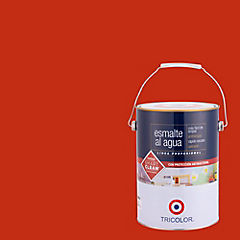 Esmalte al agua satinado 1 gl rojo italiano