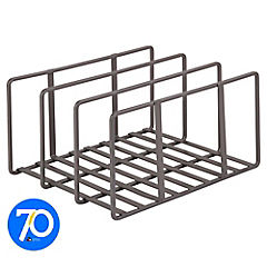 Organizador interior para mueble de cocina 14x21,5x25 cm metal