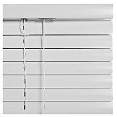 Persiana Aluminio 100 x 165 cm Blanca
