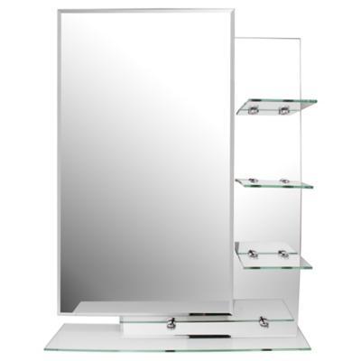Espejo para ba o con repisa 70x50x0 5 cm for Sodimac banos precios