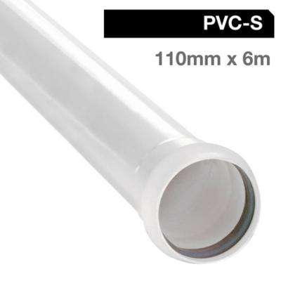 Tubo pvc sanitario para cementar 110 mm 6 m - Tubo pvc sanitario ...