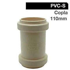 Copla PVC 110mm sanitario goma