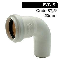 50mm  Goma Codo  PVC sanitario