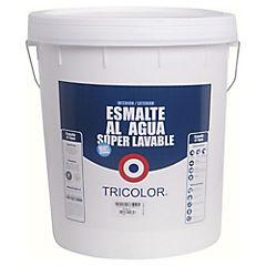 Esmalte al Agua Satinado 5 galones Blanco