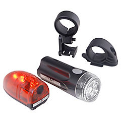 Set de luces LED para bicicleta 2 unidades
