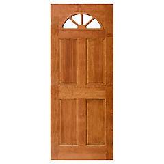 Puerta acceso pino Ibiza cerezo 80x210 cm