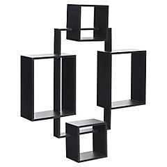 Set 4 cubos decorativos