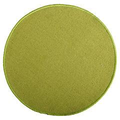 Alfombra redonda 60 cm verde