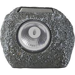 Roca solar decorativa 12 cm Gris