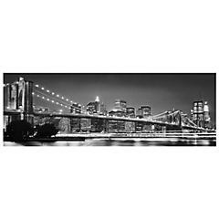 Fotomural Brooklyn blanco/negro 4320