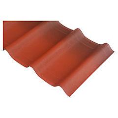 500 x 900 mm Cumbrera Onduvilla Roja