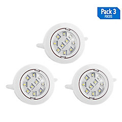 Pack 3 focos led 6 Watts