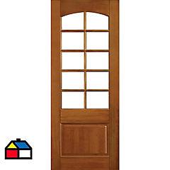 Puerta lenga Carolina 75x200 cm