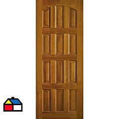 Puerta lenga Napoles 95x210 cm