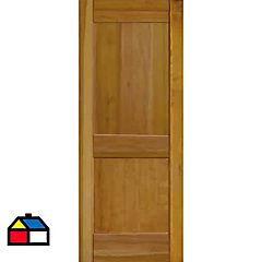 Puerta lenga Florencia 80x200 cm