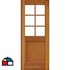 Puerta lenga Ancona 85x200 cm
