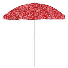 Quitasol diámetro 180 cm Spring rojo