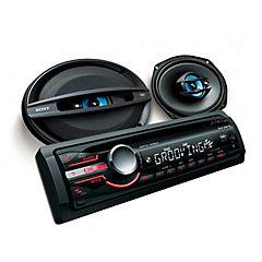 Set Radio + Parlantes