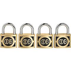 Set de candados forjados con llaves 50 mm