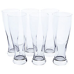 Set de 6 vasos giant beer 600 ml
