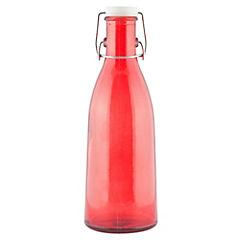Botella Leche Lisa Tapa Hermética Roja 950 cc