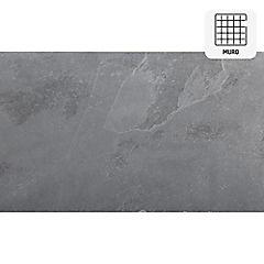 Piedra Pizarra 30 x 60 cm Negra 0.9 m2
