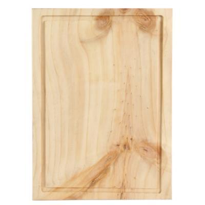 Tabla para picar madera 30x40 cm for Escalera madera sodimac